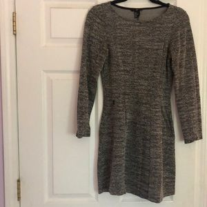 H&M 3/4 Sleeve Tweed Dress - Size Small